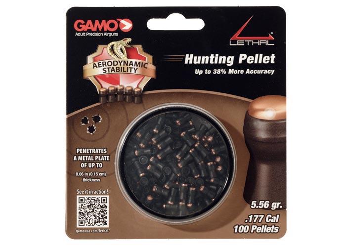 Gamo Lethal .177 Cal, 5.56 gr - 100 ct