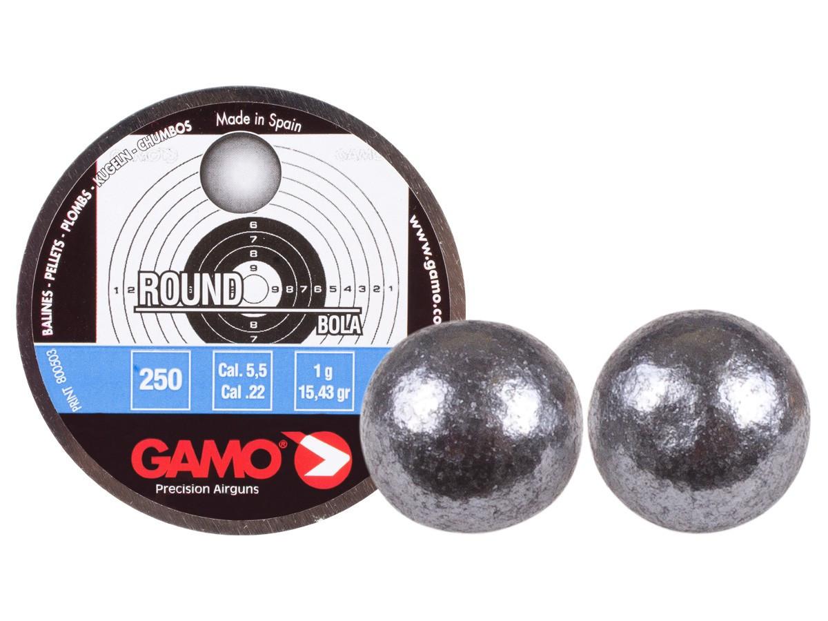 Gamo Roundball .22 Cal, 15.43 gr - 250 ct