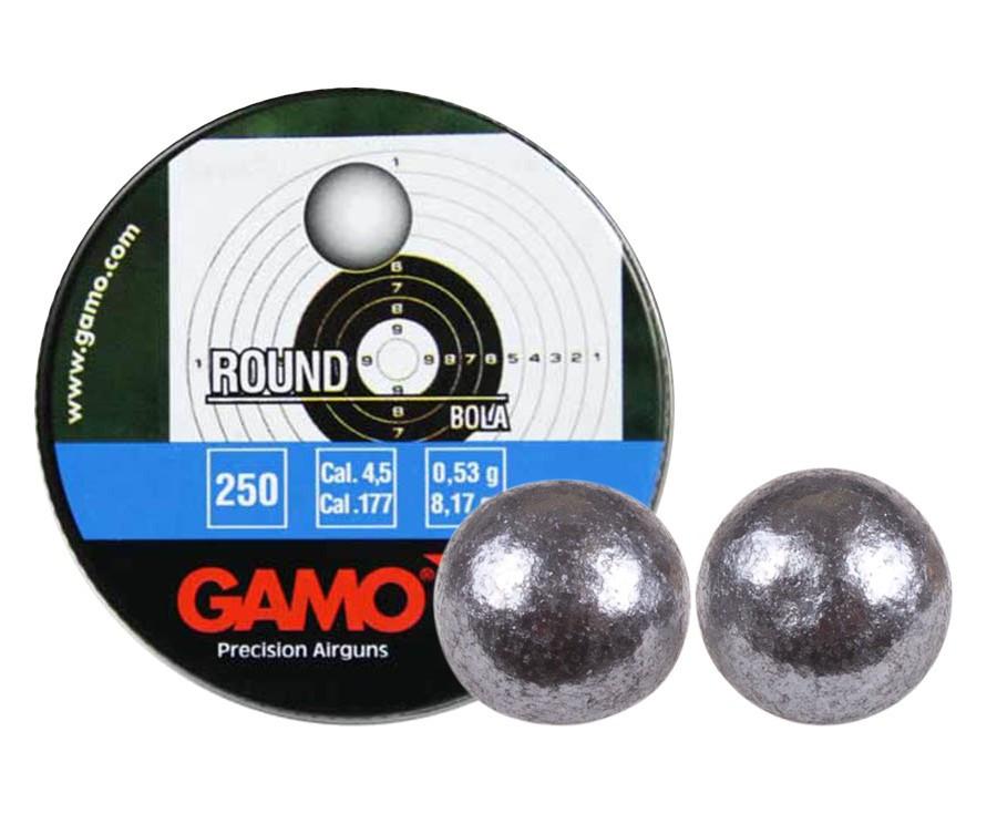 Gamo Roundball .177 Cal, 8.2 gr - 250 ct