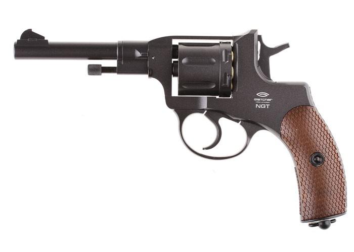 Gletcher NGT F BB Revolver, Black