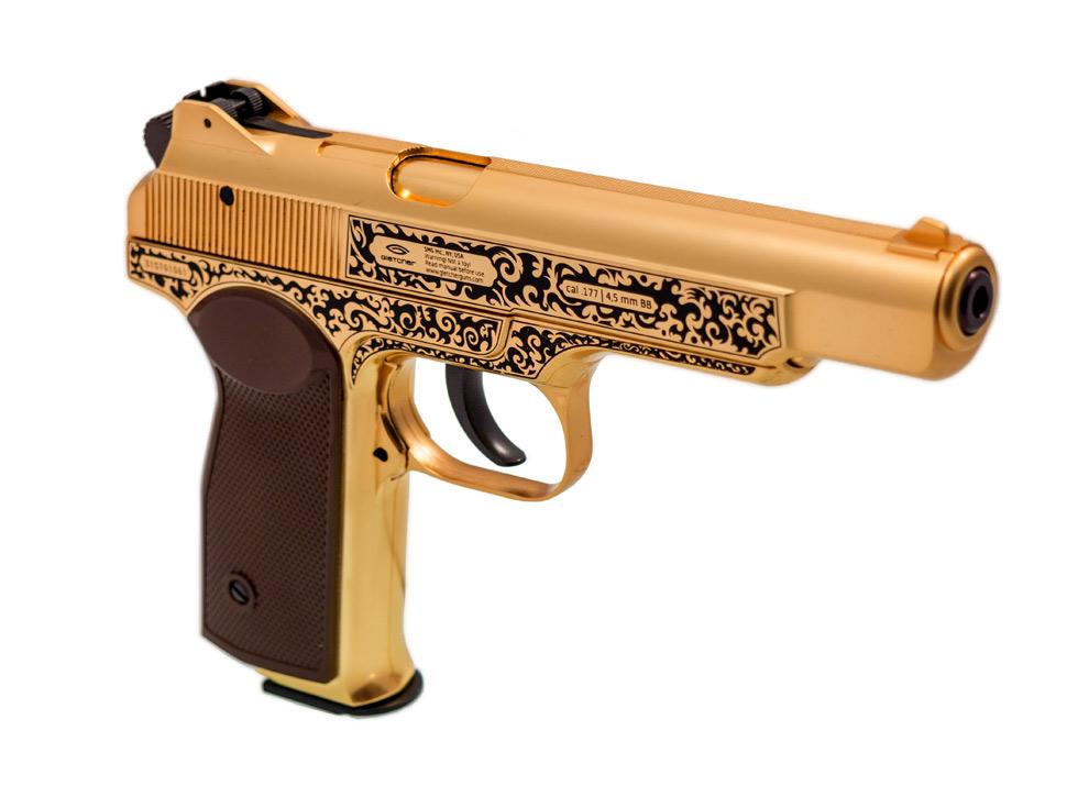 Gletcher Stechkin APS BB Pistol, Gold