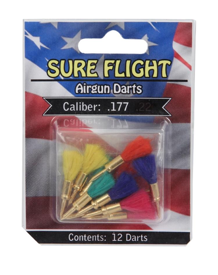 Sure Flight Airgun Darts, 12 pack