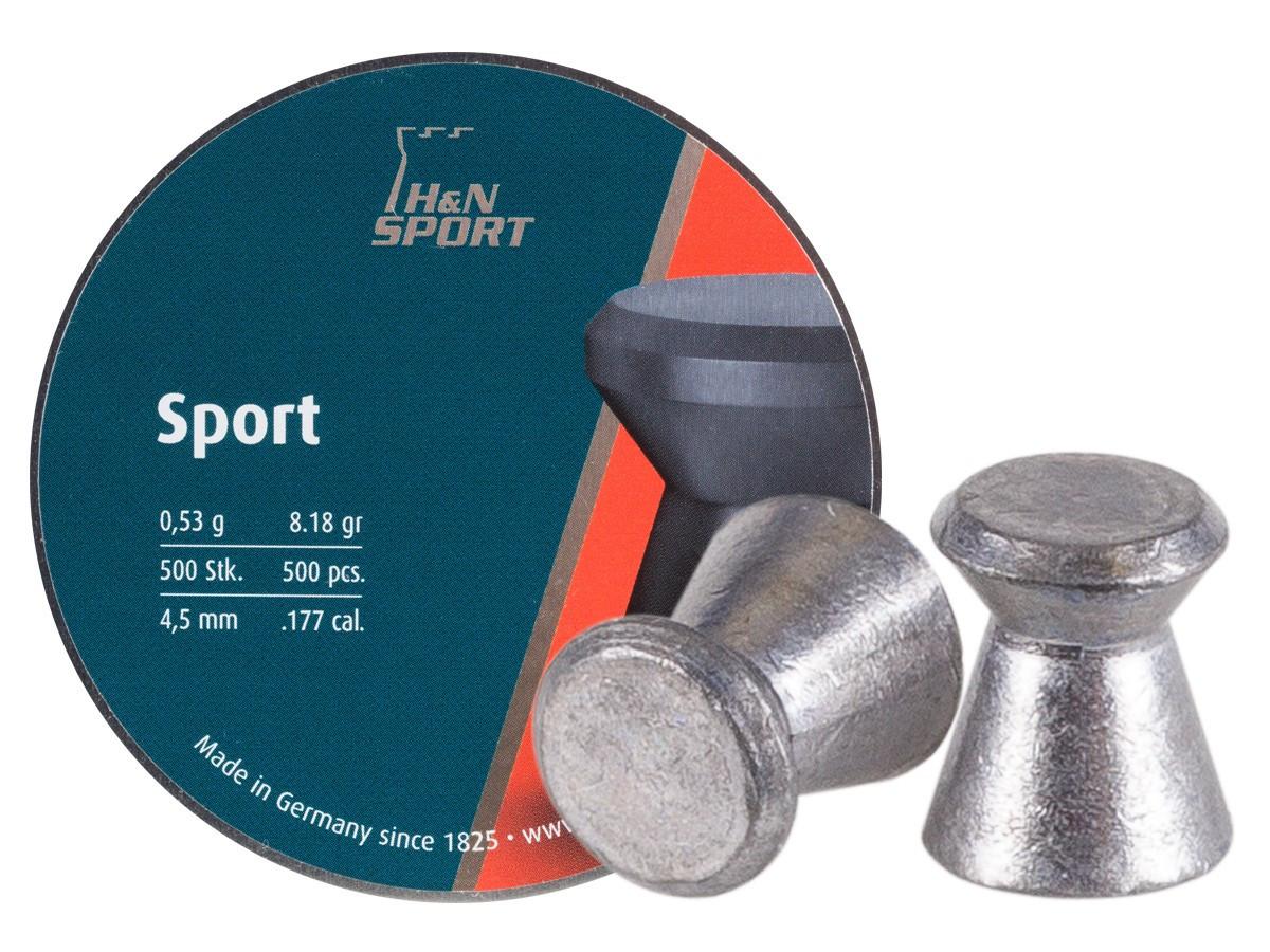 H&N Sport .177 Cal, 8.18 gr - 500 ct