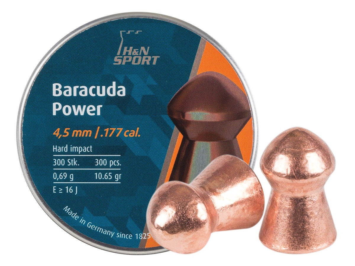 H&N Baracuda Power .177 Cal, 10.65 gr - 300 ct