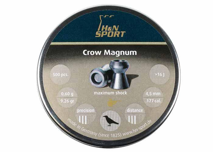 H&N Crow Magnum .177 Cal, 9.26 gr - 500 ct