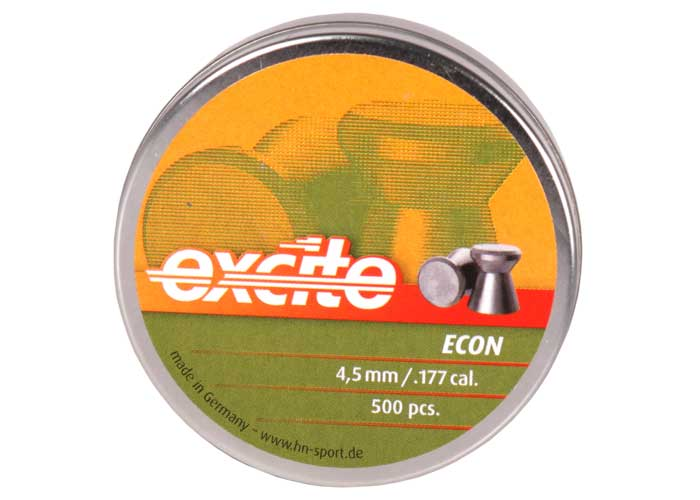 H&N Excite Econ .177 Cal, 7.48 gr- 500 ct
