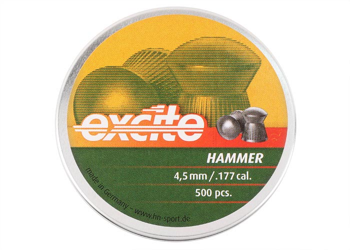 H&N Excite Hammer .177 Cal, 7.87 gr - 500 ct