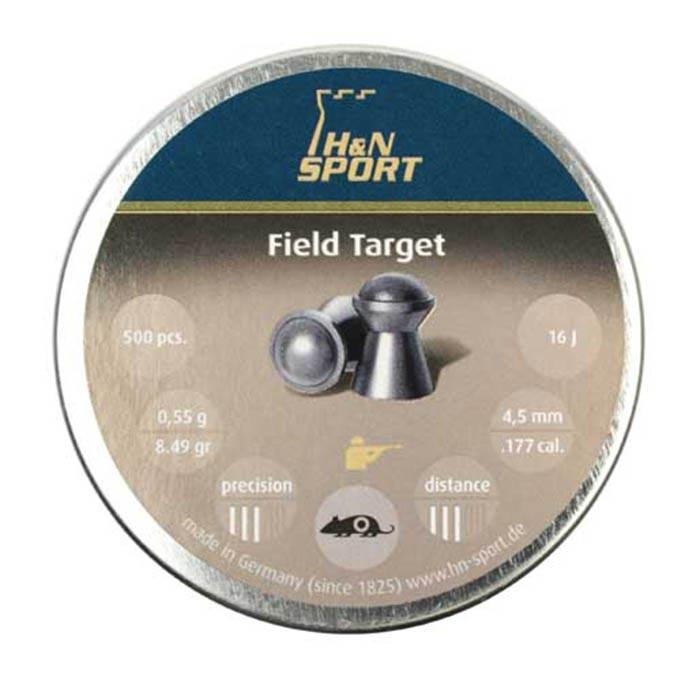 H&N Field Target .177 Cal, 8.49 gr - 500 ct