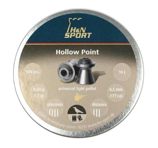 H&N Hollow Point .177 Cal, 7.10 gr - 500 ct