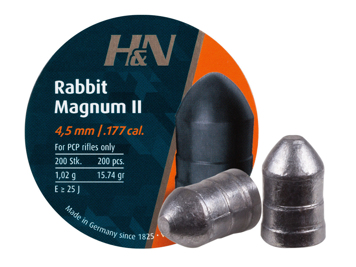 H&N Rabbit Magnum II .177 Cal, 15.74 gr - 200 ct