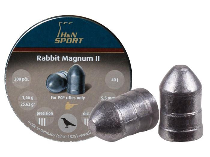 H&N Rabbit Magnum II .22 Cal, 25.62 gr - 200 ct