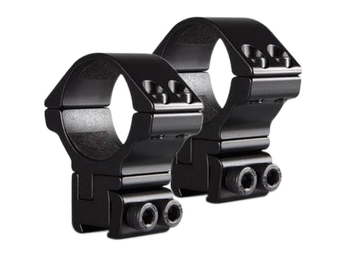 Hawke High 30mm Adjustable Rings, Dovetail