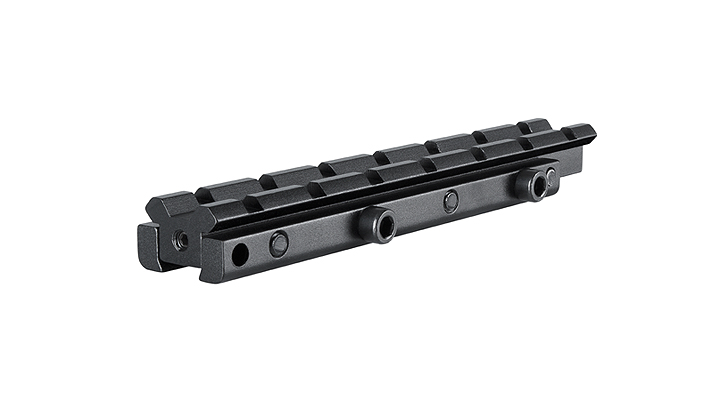 """Hawke 1-Pc Elevation Adapter, 3/8"""" Dovetail to Weaver Rail"""