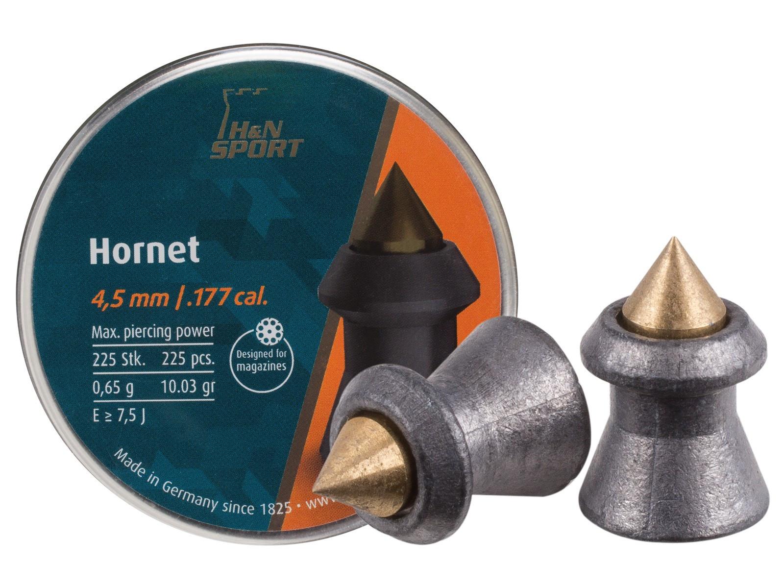 H&N Hornet .177 Cal, 8.80 gr - 225 ct