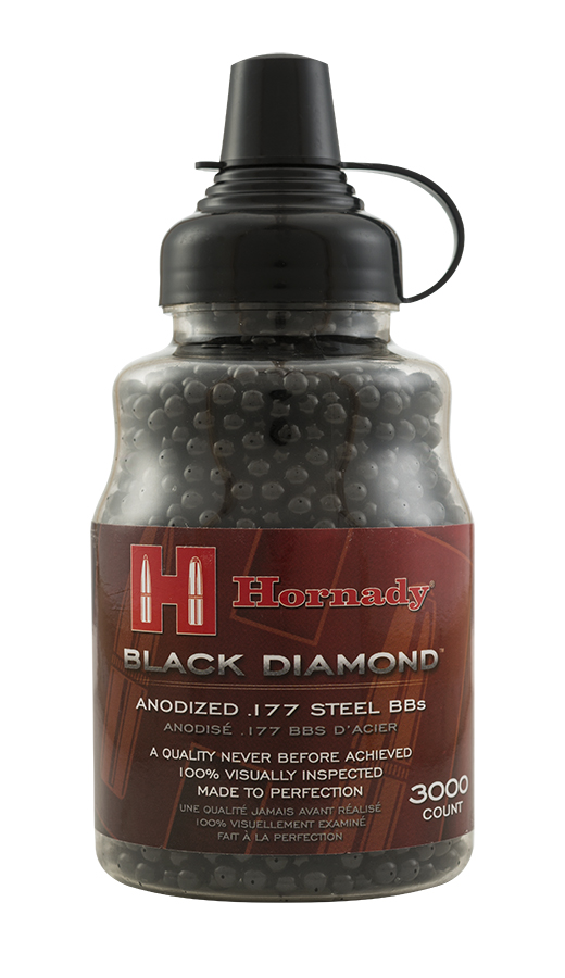 Hornady Black Diamond Steel BBs, 3000ct