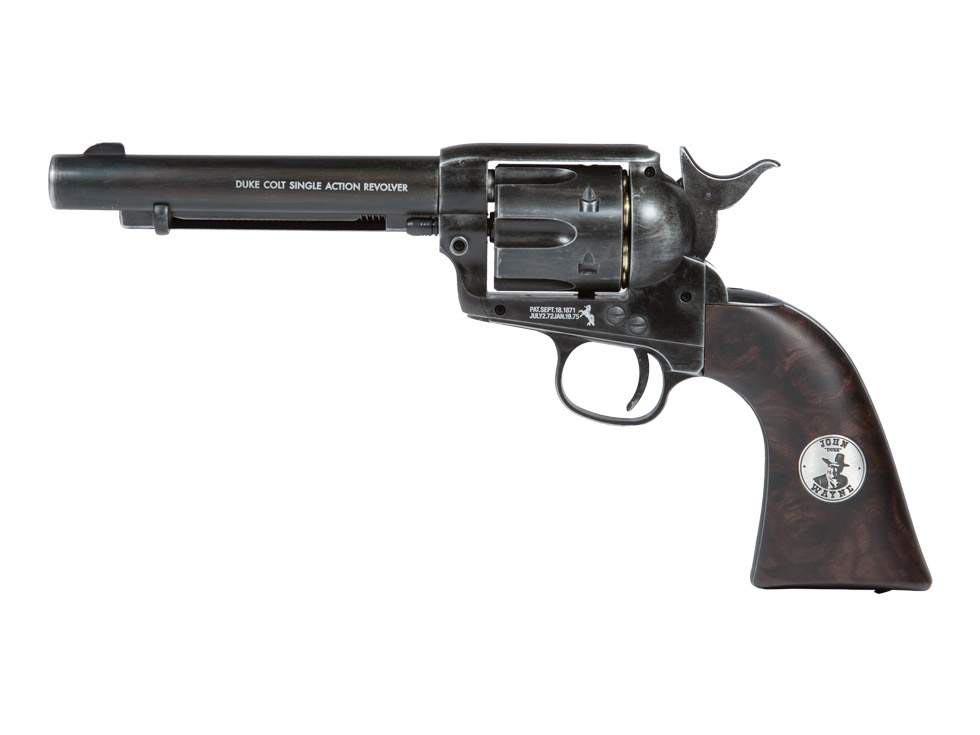 John Wayne Colt Peacemaker Pellet Revolver, Weathered