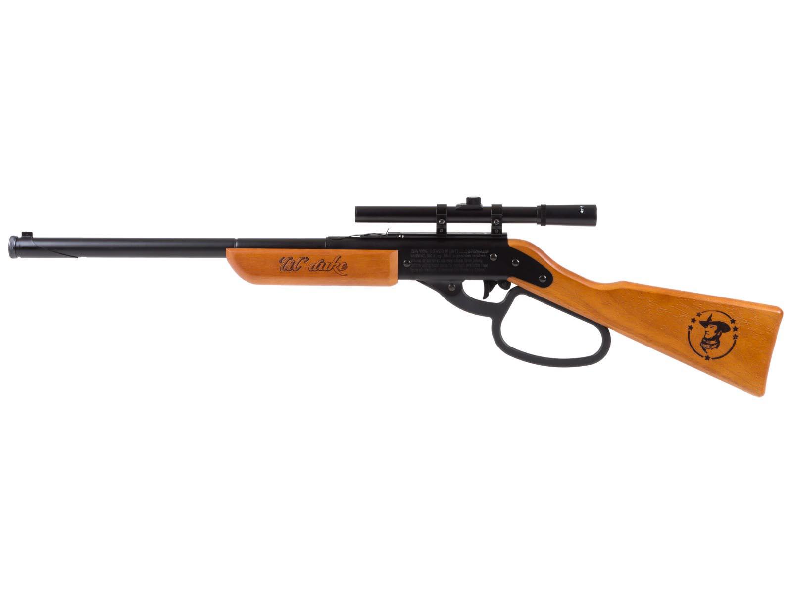John Wayne Lil Duke BB Rifle + Scope kit