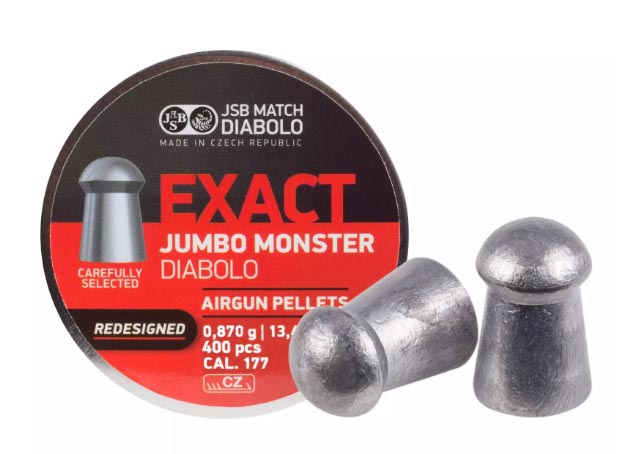 JSB Diabolo Exact Monster Redesigned .177 Cal, 13.43 gr - 400 ct
