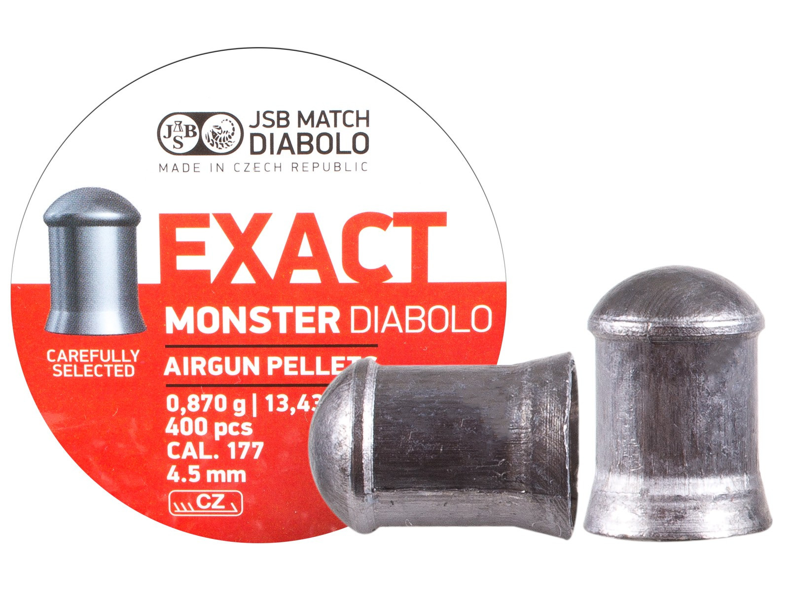 JSB Diabolo Exact Monster .177 Cal, 13.4 gr - 400 ct