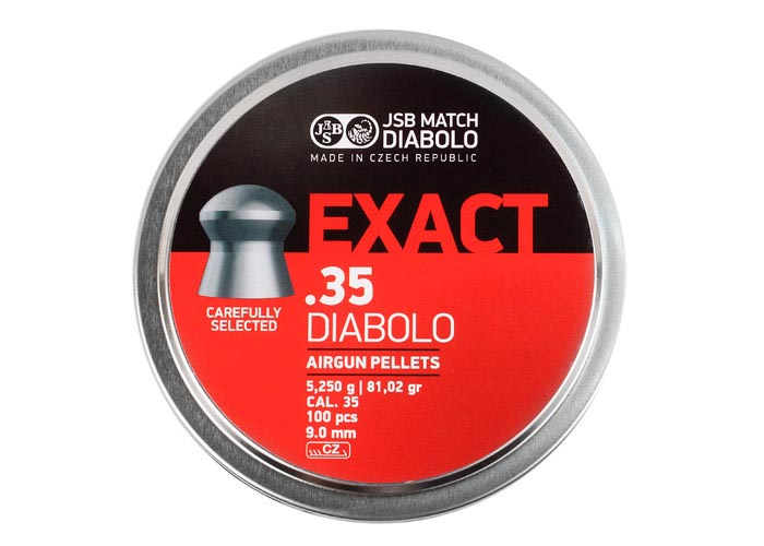 JSB Diabolo Exact .35 Cal, 81.02 gr - 100 ct