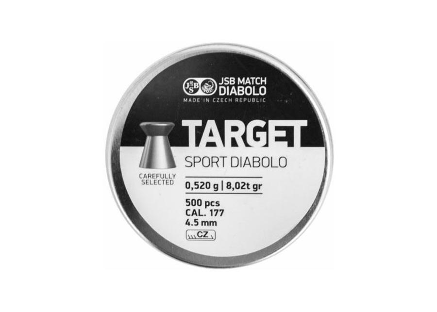 JSB Target Sport .177 Cal, 8.02 gr - 500 ct