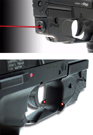 Laser for Walther CP99, Nighthawk, & CP Sport Air Pistols