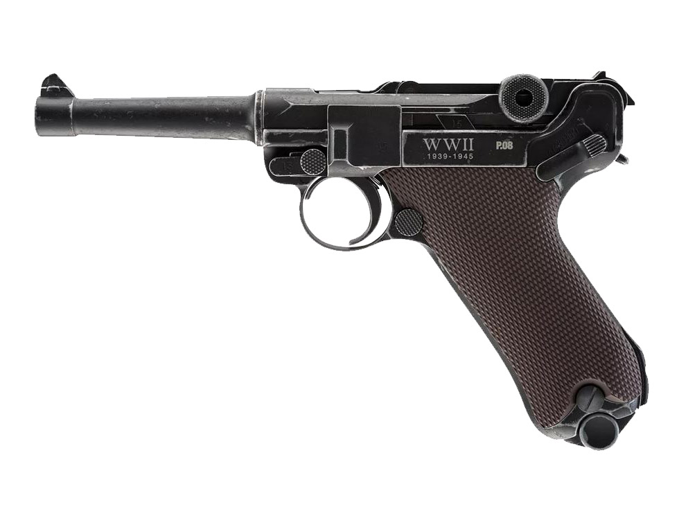 Legends P08 Luger BB Pistol, WWII Limited Edition