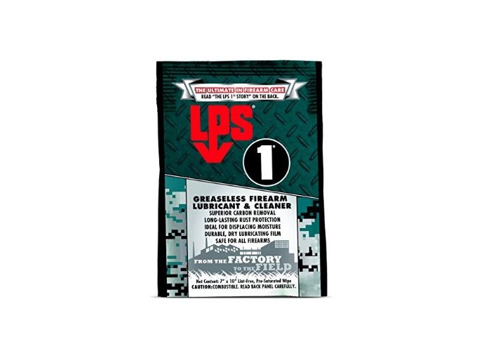 LPS 1 Firearm Wipe, 6 pack