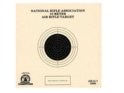 National Target Single 10m Air Rifle Target, 100 ct