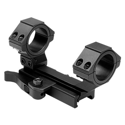 NcSTAR AR15 QR Weaver Mount, Cantilever Scope Mount