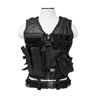 NcSTAR Tactical Vest, Black