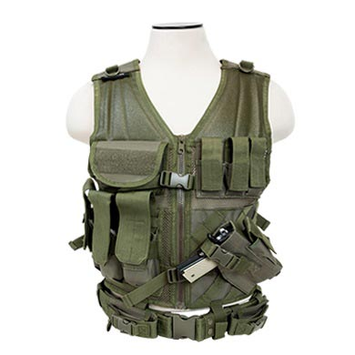 NcSTAR Tactical Vest, OD Green