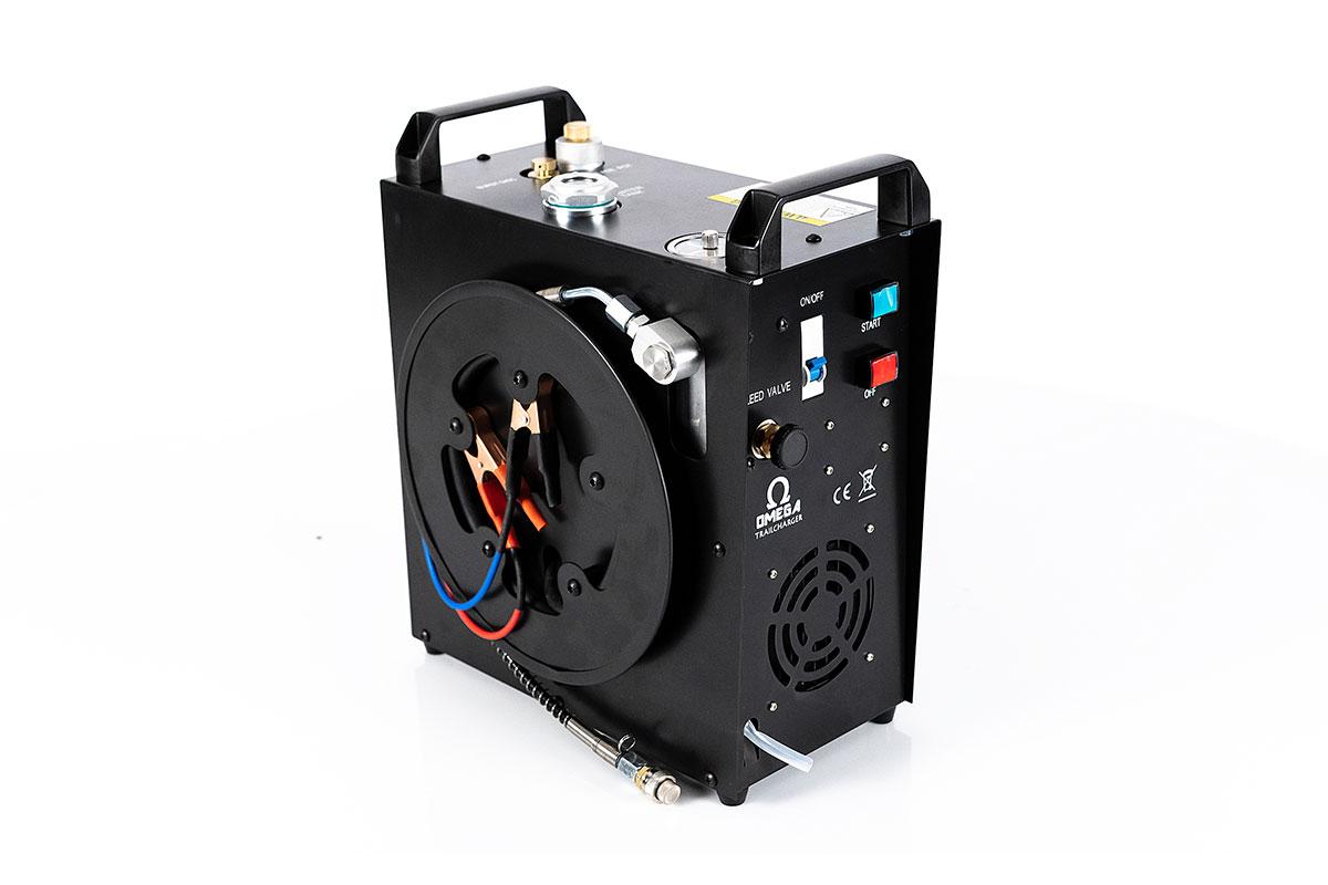Omega Trail Charger Portable Compressor, 4500 PSI