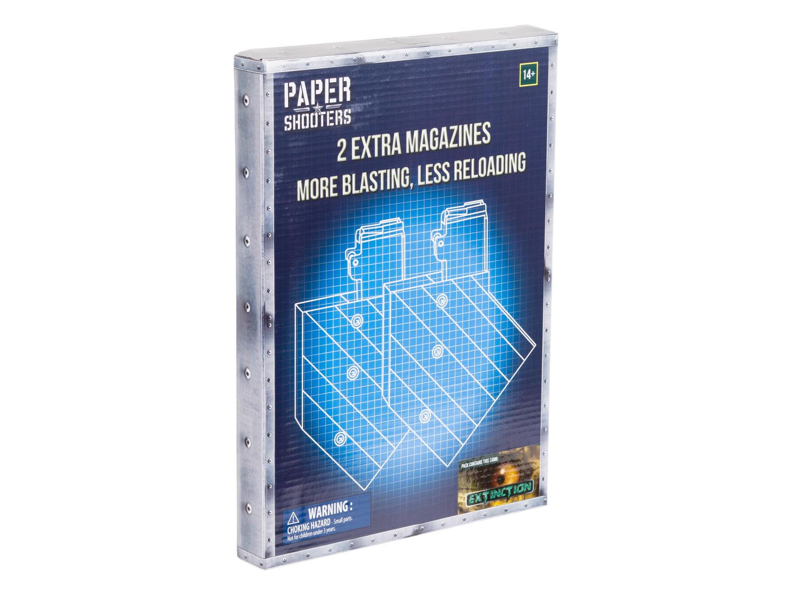 Paper Shooters Extinction Magazine, 2 Pack