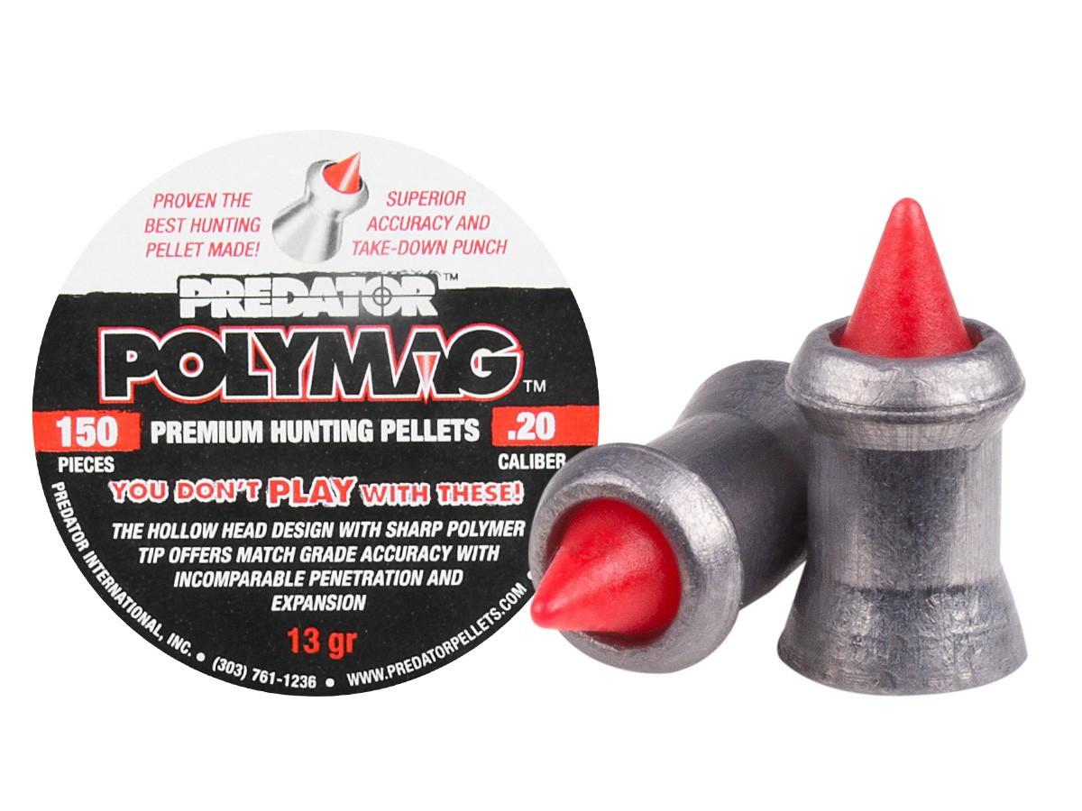 Predator Polymag .20 Cal, 13.89 gr - 150 ct