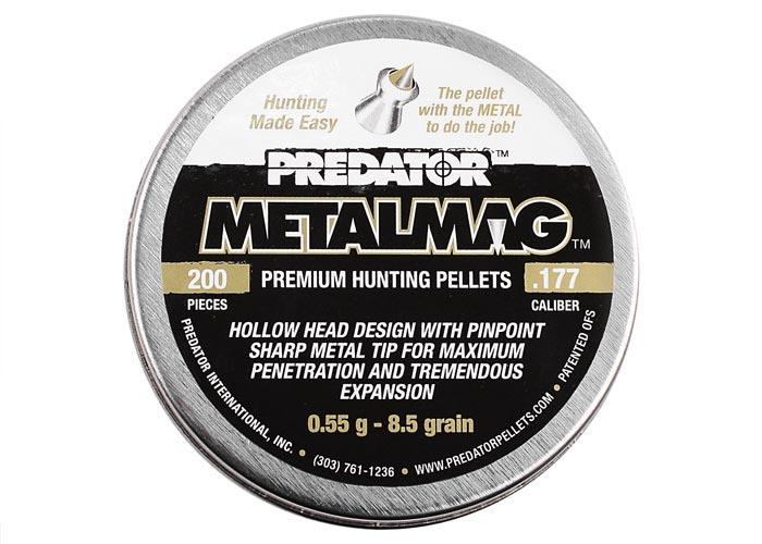 Predator Metalmag .177 Cal, 8.5 gr - 200 ct