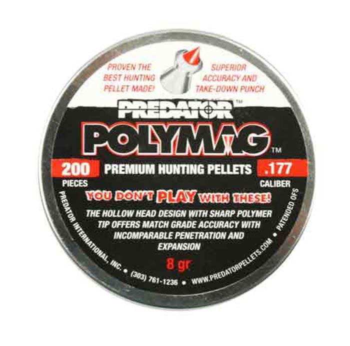 Predator Polymag .177 Cal, 8.0 gr - 200 ct