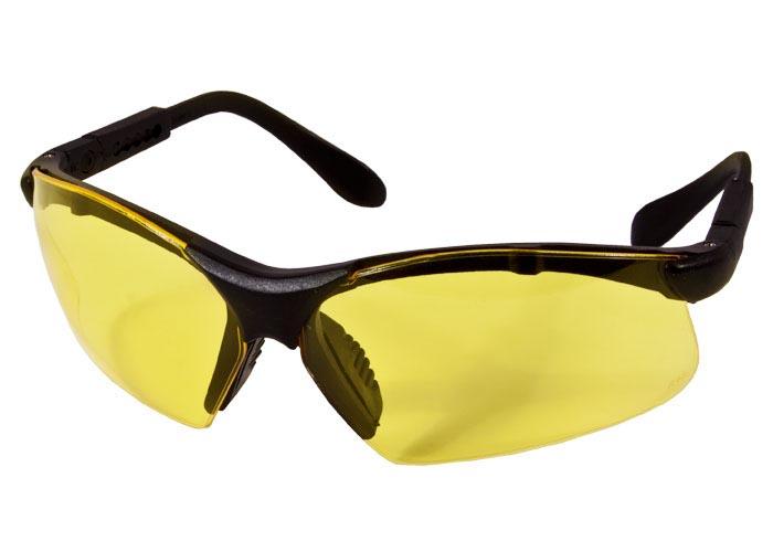 Radians Revelation Sport Safety Glasses, Amber