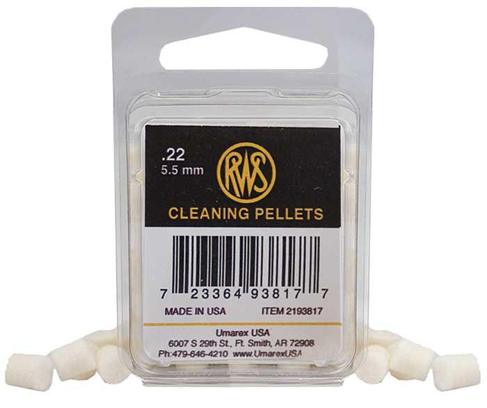 RWS Quick Cleaning Pellets .22 Cal - 80 ct