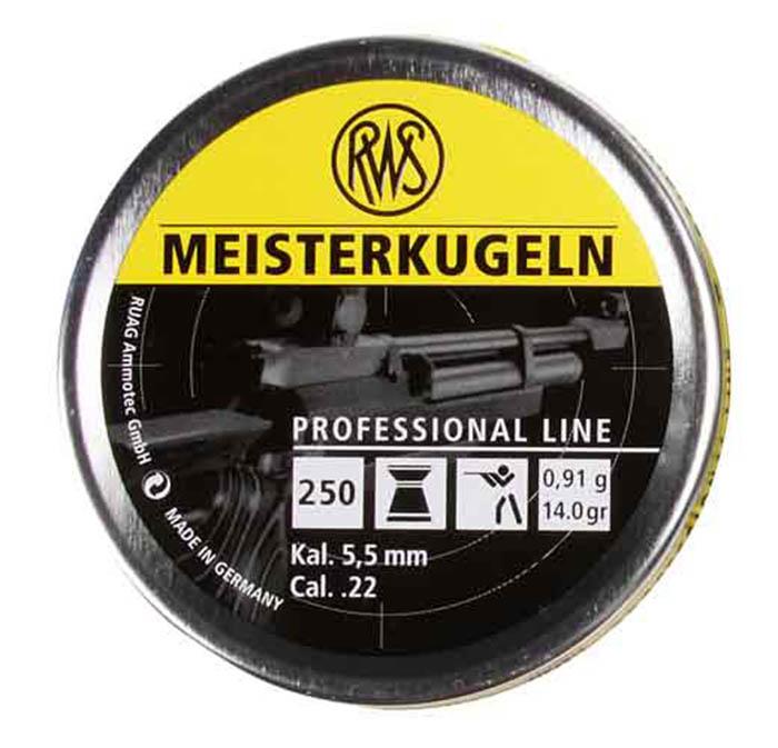 RWS Meisterkugeln .22 Cal, 14 gr - 250 ct