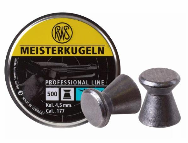 RWS Meisterkugeln .177 Cal, 7 gr - 500 ct