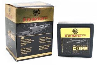 RWS R10 Match Plus .177 Cal, 8.2 gr - 500 ct