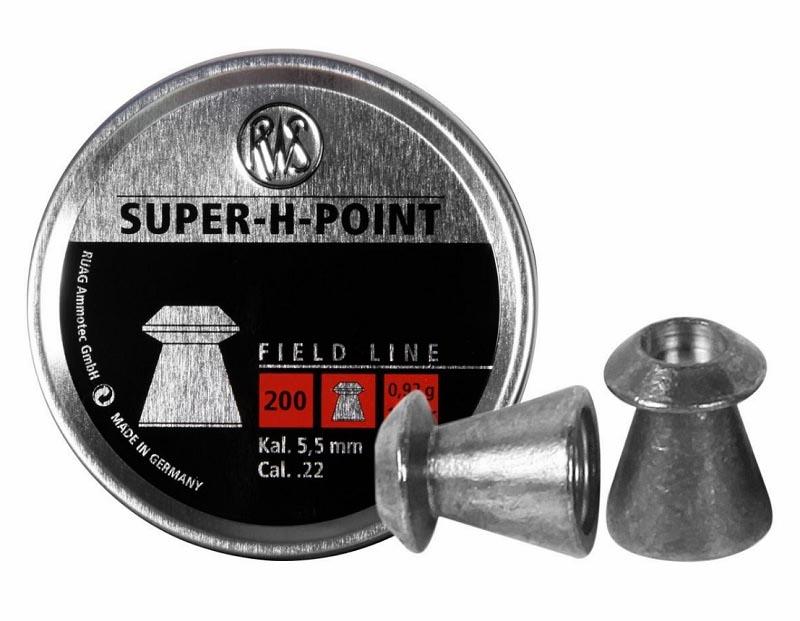 RWS Super-H-Point .22 Cal, 13.9 gr - 200 ct