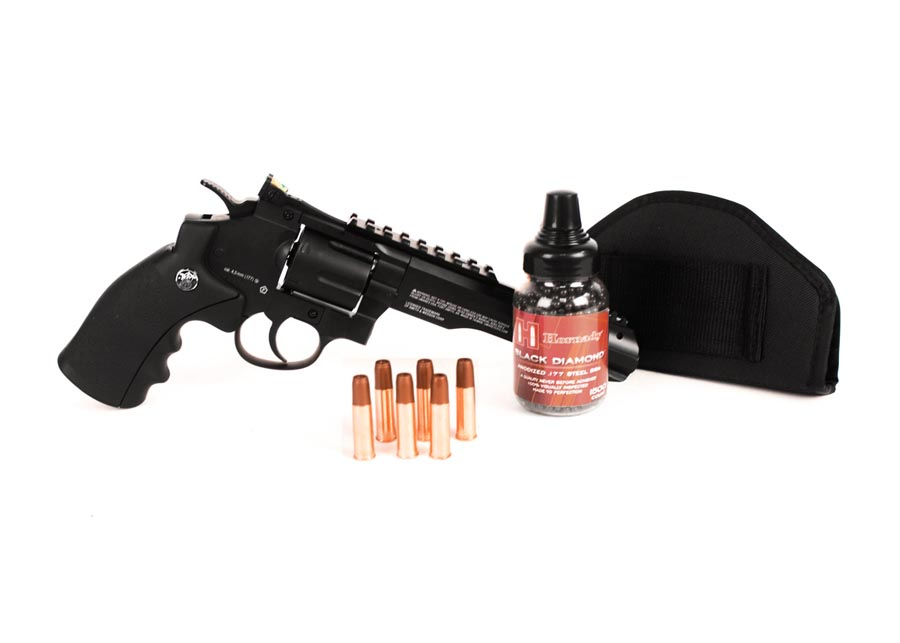 S&W 327 TRR8 BB Revolver, Black Ops Combo