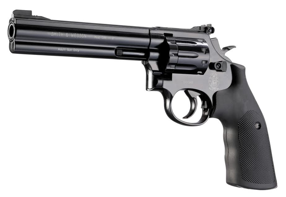 Smith & Wesson 5866 Pellet Revolver