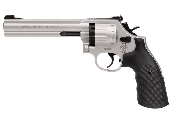 """Smith & Wesson 686 Pellet Revolver, 6"""" Barrel"""
