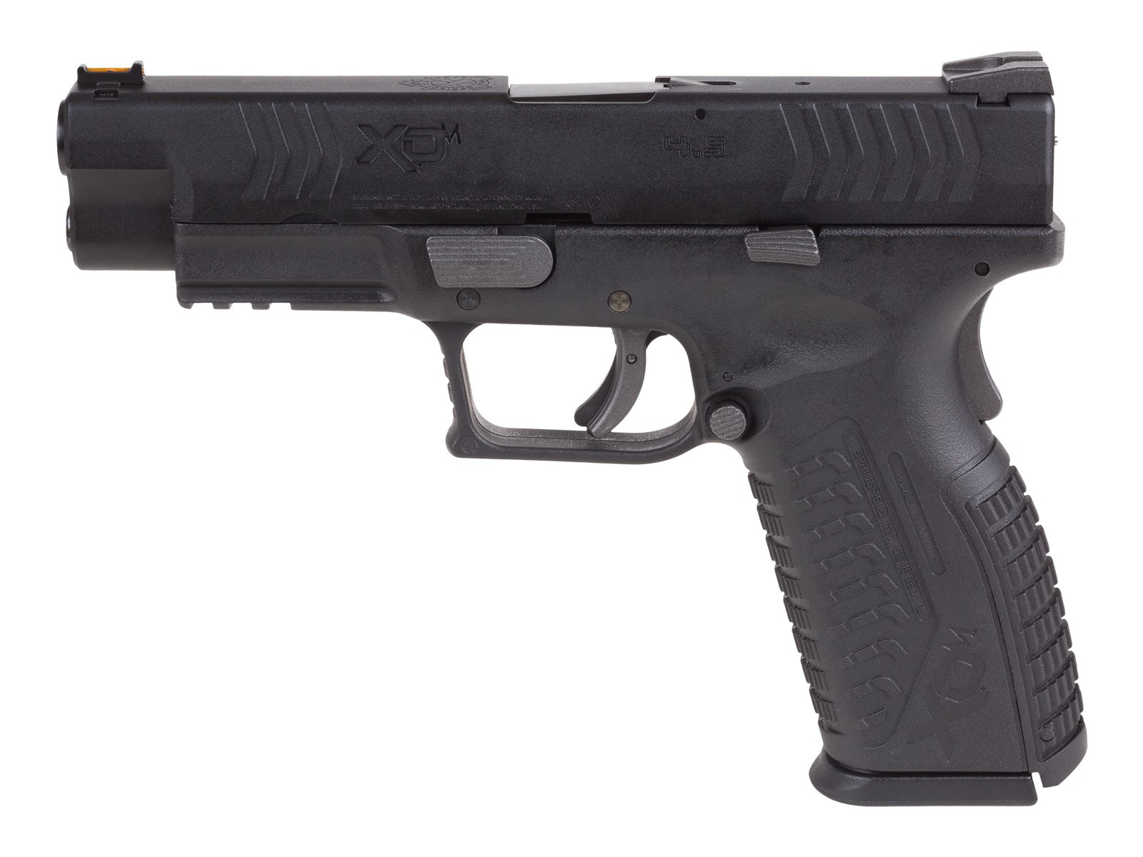 "Springfield Armory XDM 4.5"" .177 cal. CO2 Blowback Air Pistol, Black"