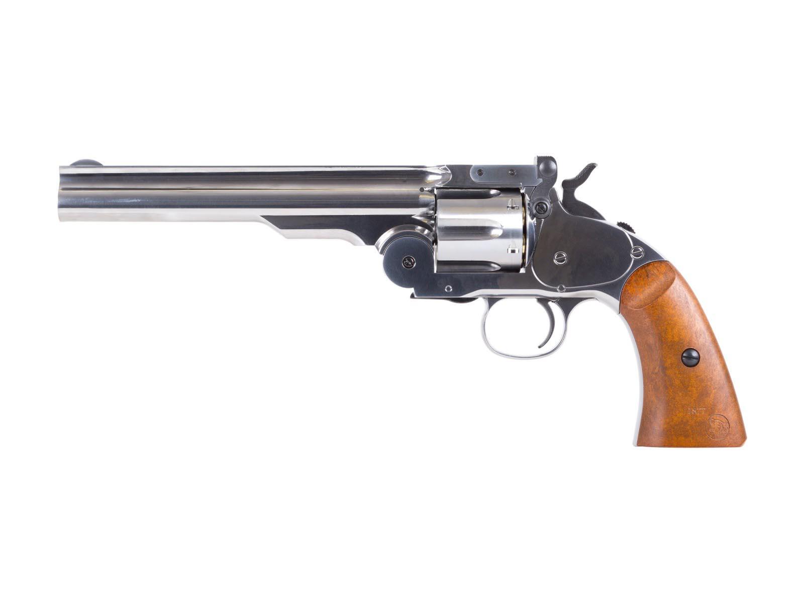 Schofield No. 3 BB Revolver, Nickel