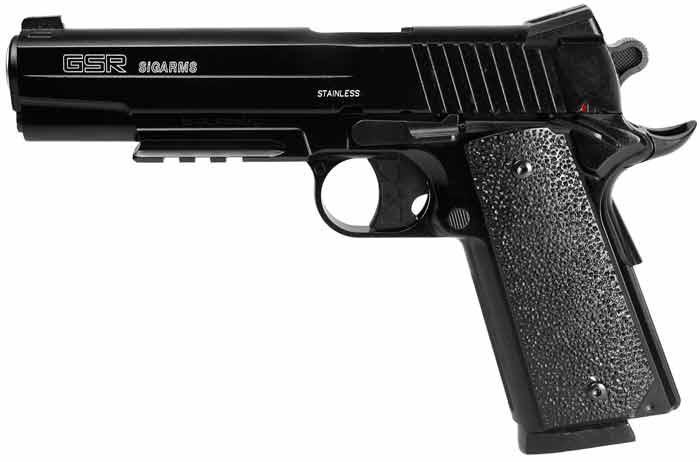 SIG Sauer GSR BB Pistol, Metal Slide