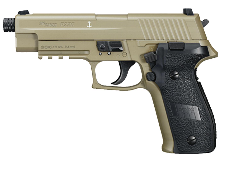 SIG Sauer P226 Pellet Pistol, Flat Dark Earth